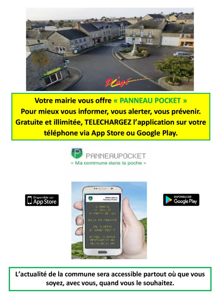 thumbnail of AFFICHE Panneau POCKET