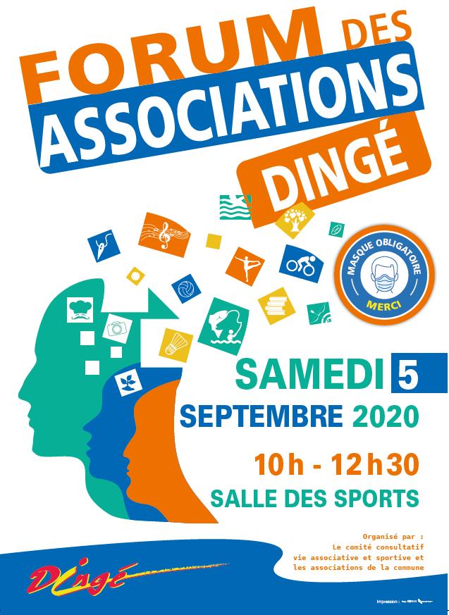 Forum des associations @ salle des sports de Dingé