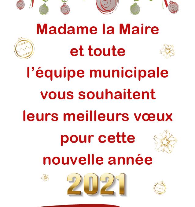 [Vidéo] Madame la Maire vous présente ses vœux